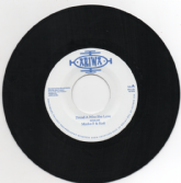 SALE ITEM - Macka B & Kofi - Dread Ah Who She Love/version (Ariwa) UK 7""